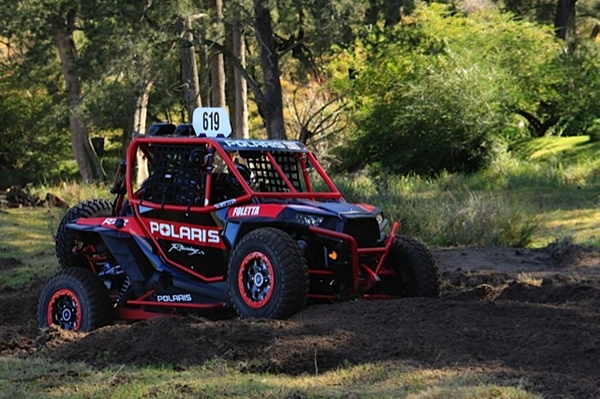 "Cody Crocker  - Testing Suspension set ups on the ""Finke"" spec Polaris RZR XP 1000. * Editors Note - Image 640 pixels wide."