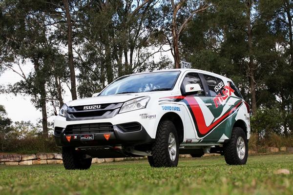Isuzu Motorsports MU-X Rally Spec