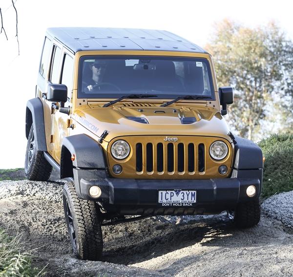 Jeep Wrangler Rubicon X
