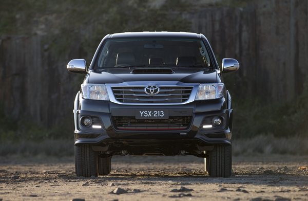 2015 Toyota Hilux Black Limited Edition