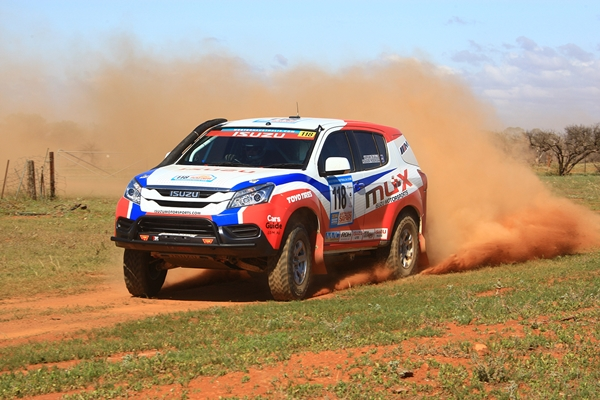 Isuzu MU-X confirmed for 2015 Dakar Rally