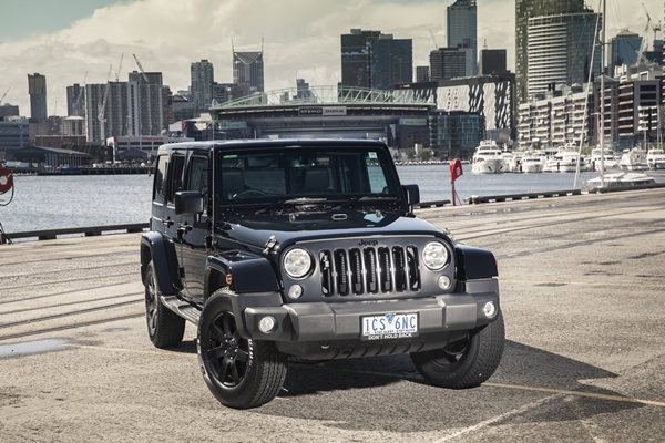Jeep Blackhawk special edition 1