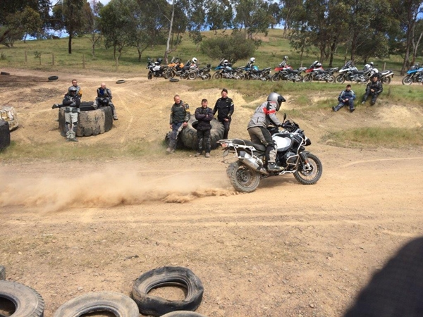 BMW Motorrad Off-Road Training. Back again in 2015