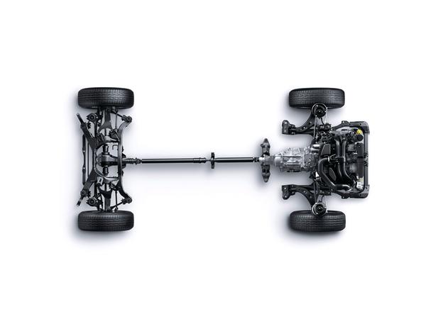 Subaru Outback 3.6R Premium AWD system