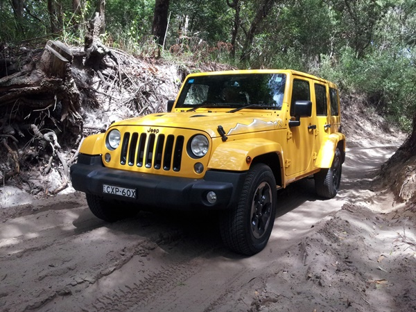 Jeep Wrangler X Limited Edition Review