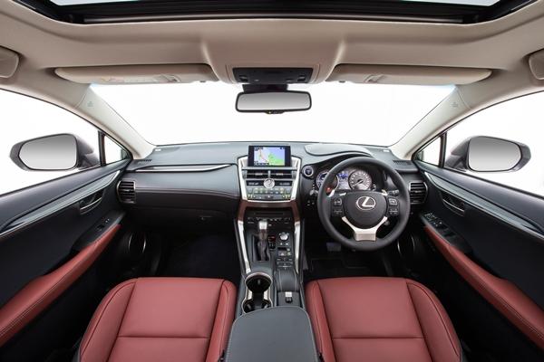 2015 Lexus NX 300h Sports Luxury