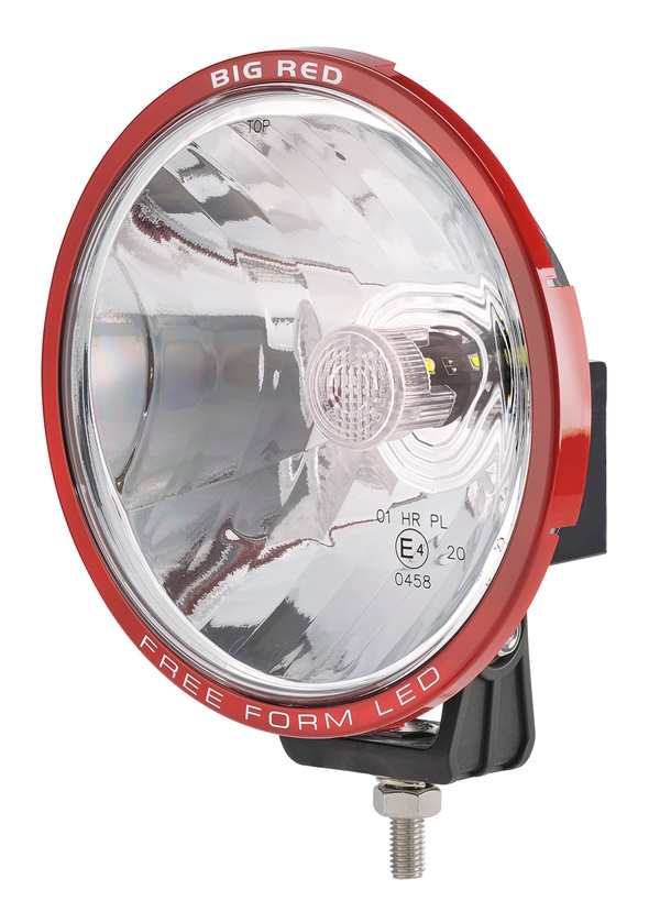 Big Red 180mm L.E.D Driving Lamp 600