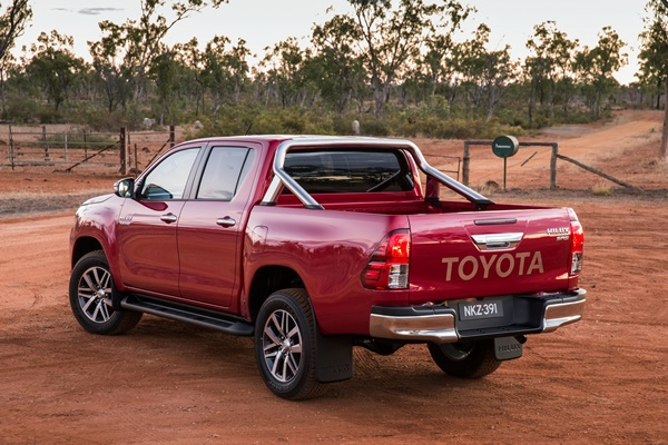 Toyota Hilux all new to take on Competitors