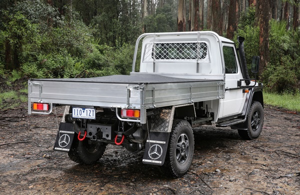 Mercedes-Benz G-Professional Cab Chassis
