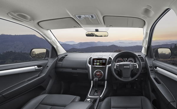 Euro 5 Isuzu D-MAX 4x4 - LS-T Interior