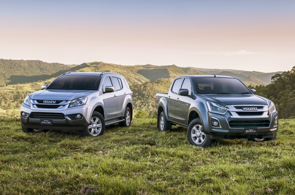 Euro 5 Isuzu MUX and DMAX