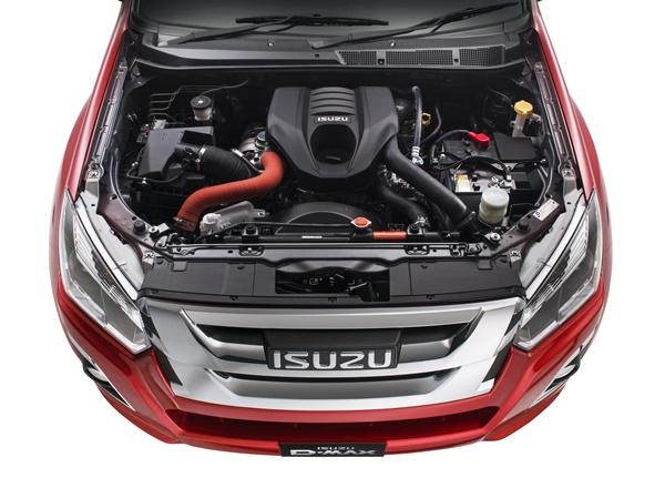 Euro 5 Isuzu engine