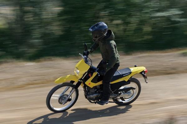MY17 Suzuki DR200S.