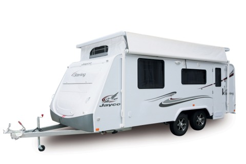 Jayco Sterling Pop Top Caravan 2010 Model