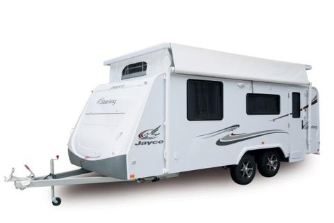 Jayco Sterling Pop Top Caravan 2010 Model