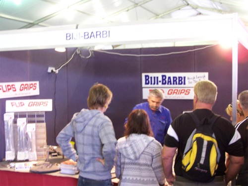 Biji Barbi at the 4WD Adventure Show
