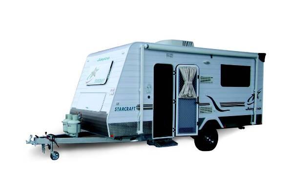 Jayco Starcraft Poptop Caravan