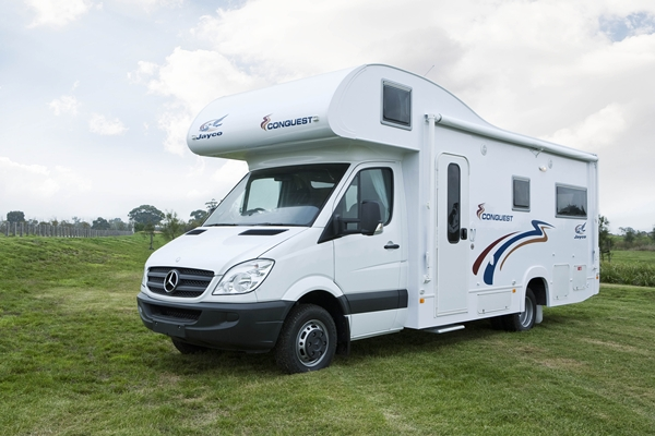Jayco Mercedes Benz Conquest Motorhome