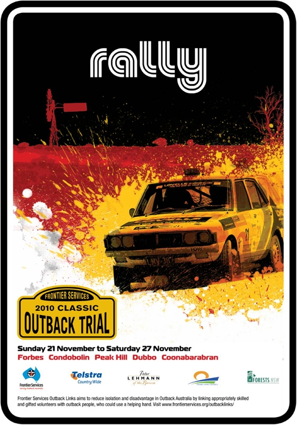 Frontier Services 'Torques Tough' As Charity Partner Of The 2010 Classic Outback Trial