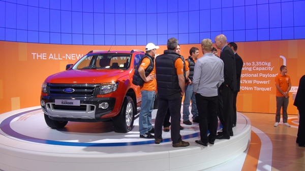 ALL NEW Ford Ranger Wildrtrak at AIMS 2011