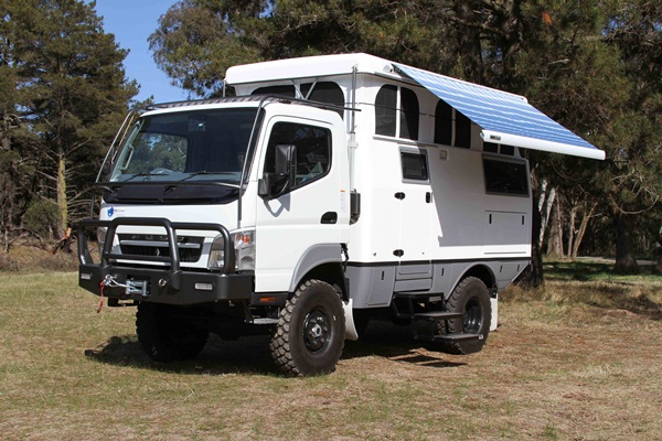 Earthcruiser All Terrain Motorhome To The United States