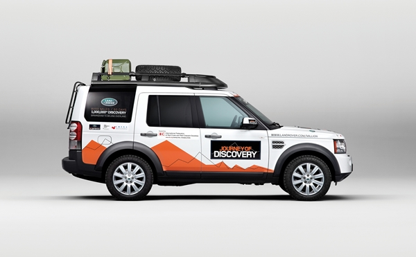 Land Rover Launches 'Journey Of Discovery'