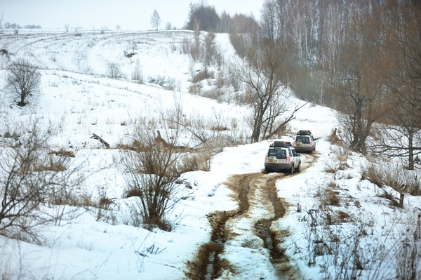 Land Rover Journey Of Discovery Leaving Ukraine and into Russia