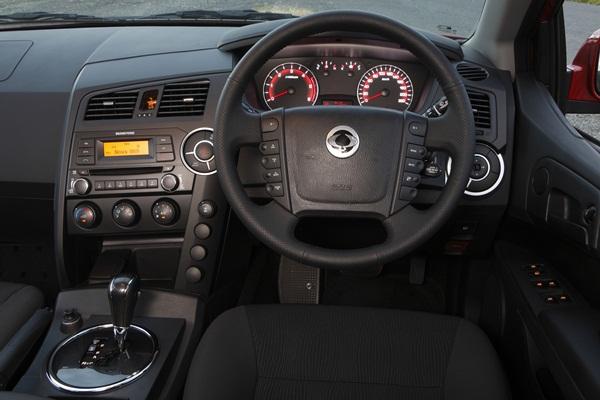 Ssangyong Actyon Sports SX Dual Cab Ute DASH - OzRoamer