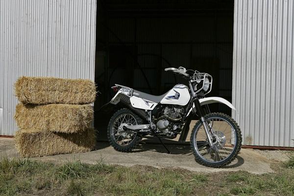 Suzuki DR200SE Trojan