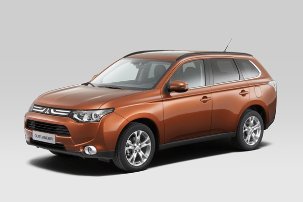 All new Mitsubishi Outlander 2012