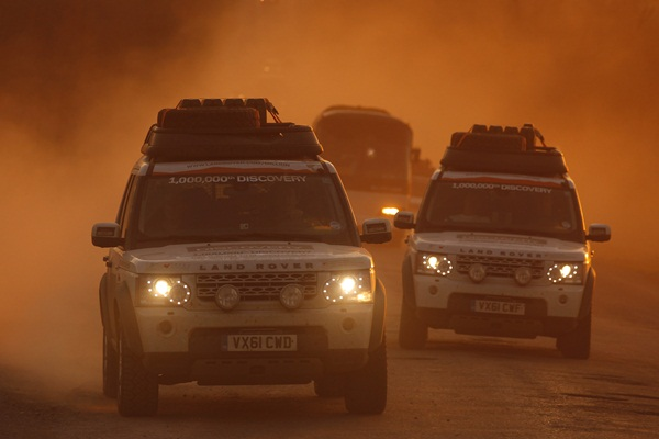 Land Rover Journey of Discovery Kazakhstan to China