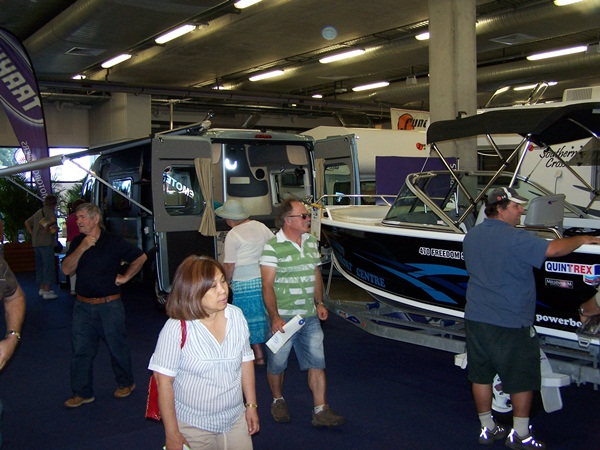 NSW Caravan, Camping, RV and Holiday Supershow at Rosehill Racecourse, 21-29 April 2012
