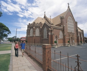 st mary's church kalgoorlie front view