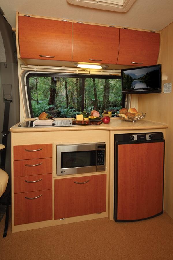 2012 Winnebago Diversion Motorhome kitchen