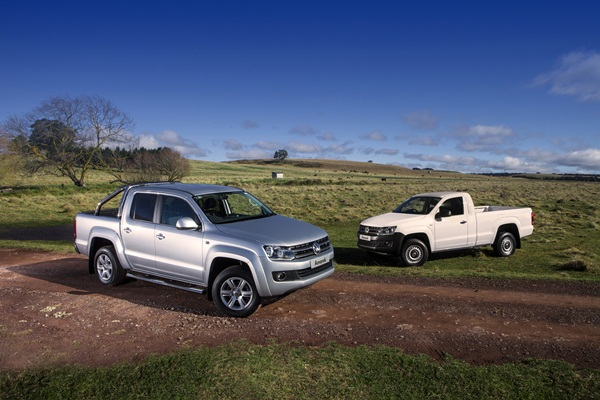 2012 VW Amarok 8 speed auto