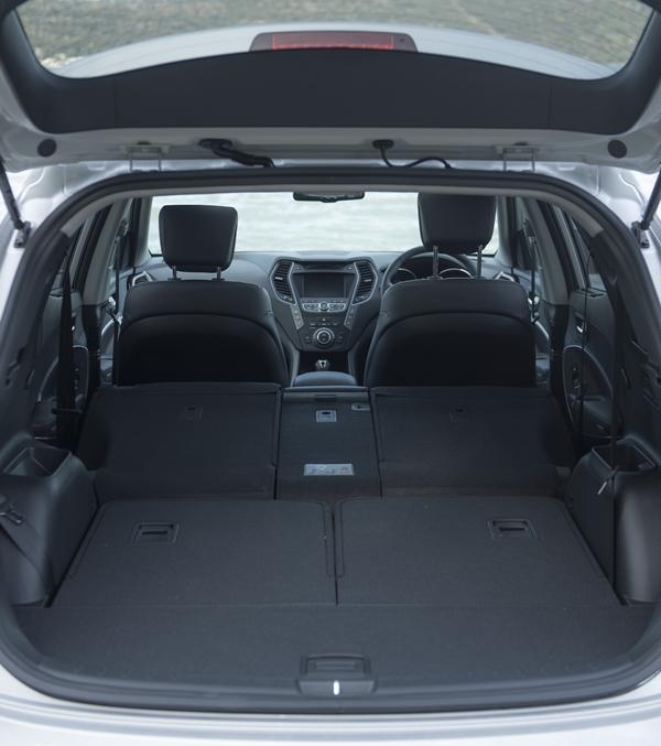 Hyundai Santa Fe Highlander Interior Boot Area Ozroamer