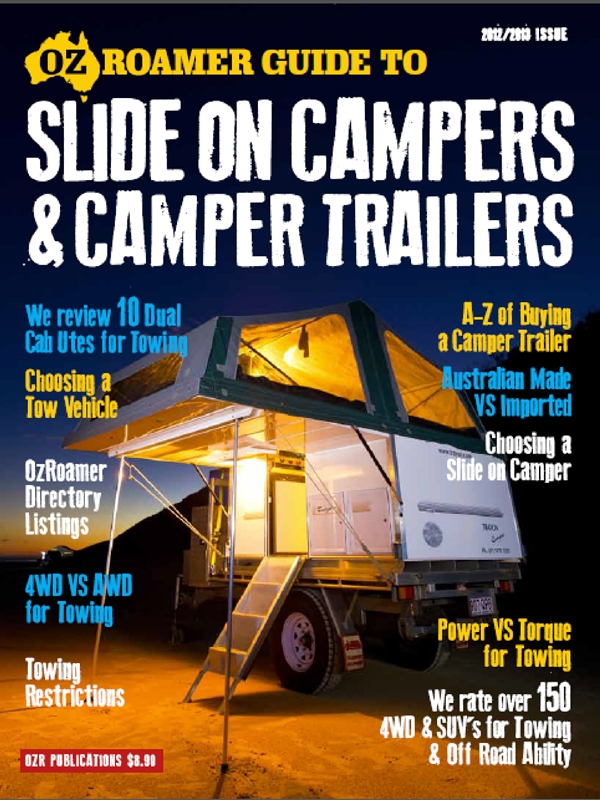 OzRoamer 2102-13 Guide to Slide on Campers and Camper Trailers