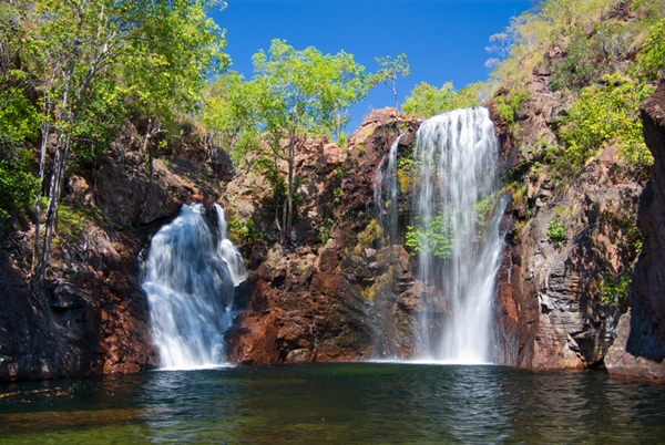 Florence Falls at Litchfield national park in northern ...