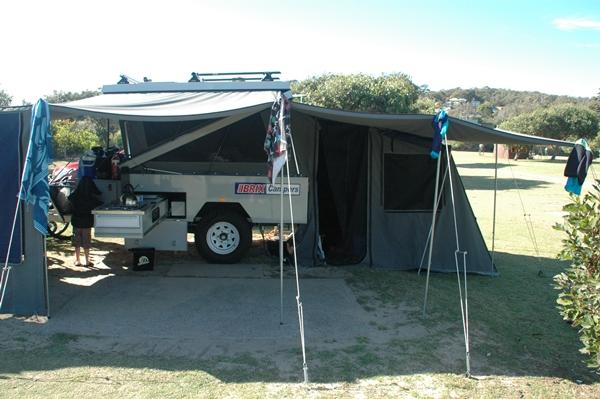 Brix Z Camper Trailer setup
