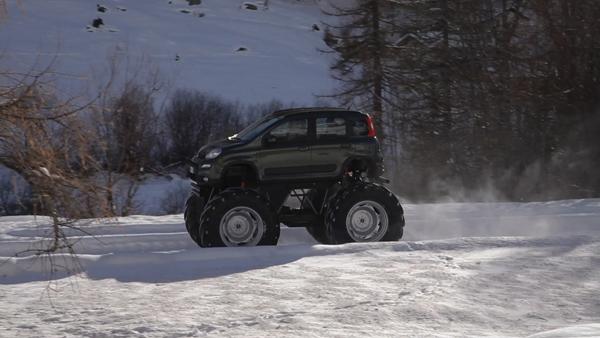 Fiat Panda Monster Truck 4x4