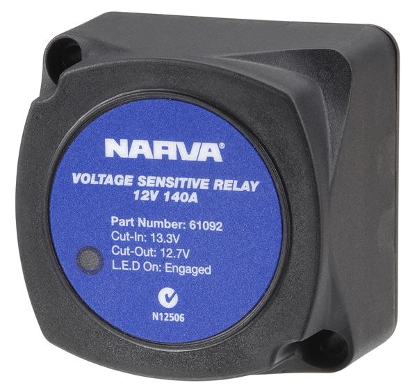 Narva 12V Voltage Sensitive Relay 4x4