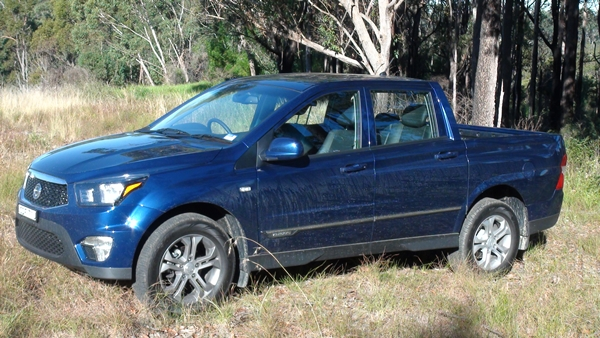 SsangYong Actyon Sports Ute SPR