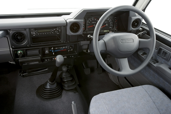 Toyota Landcruiser 76 Wagon Gxl Interior Ozroamer