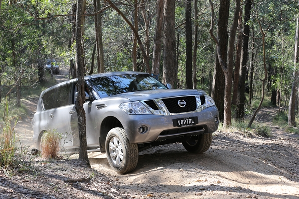 2013 All-New Nissan Patrol exterior