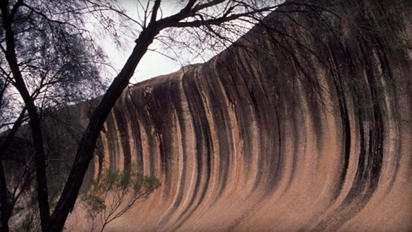DEEPER COLOURED WAVE ROCK Hyden WESTERN AUSTRALIA