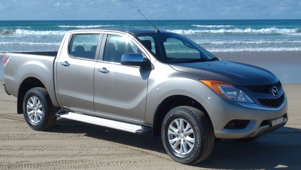 Mazda BT 50 Towing Upgrade