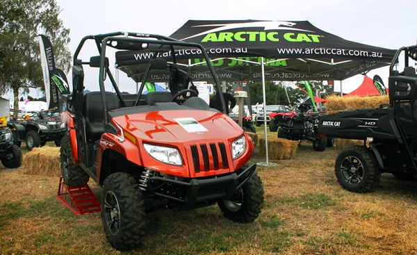 Arctic Cat Turns Heads at Farmworld