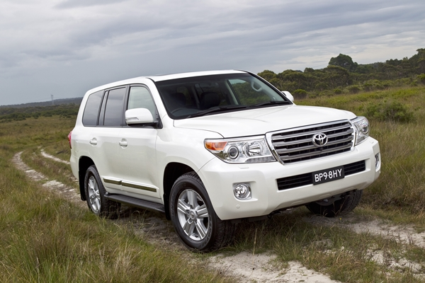 Toyota Landcruiser Sahara