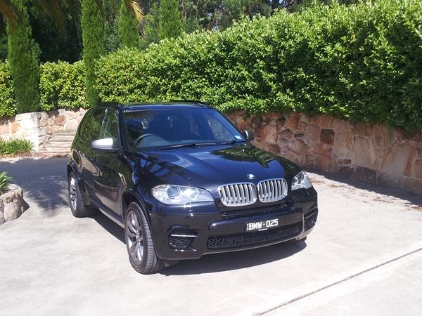 BMW X5 M50d Sports AWD SUV external