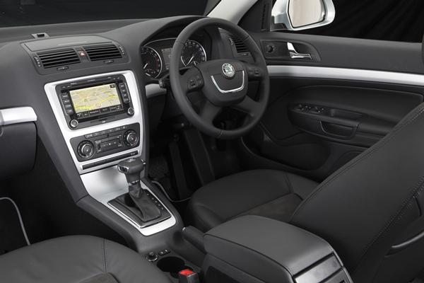 Škoda Octavia Scout 4X4 dash
